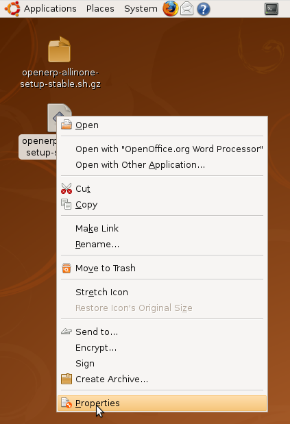 OpenERP installation: All-in-One for Ubuntu with updates